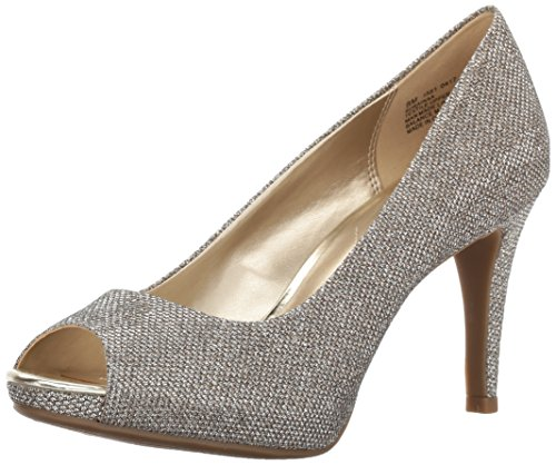 Bandolino Women's Rainaa Pump, Gold Glamour, 8.5 W US