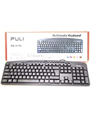 Puli Multimedia Keyboard For PC and Laptop - KB-8168