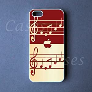 Iphone 5 Case Music Notes Pretty Cool Iphone 5 Cover Unique Design