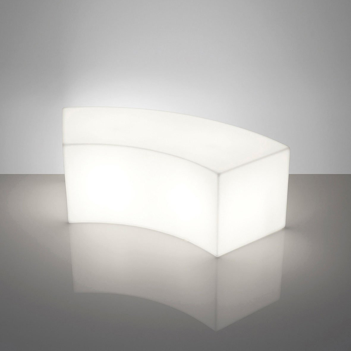 Slide Snake Out Pouf- Small table Lighting White