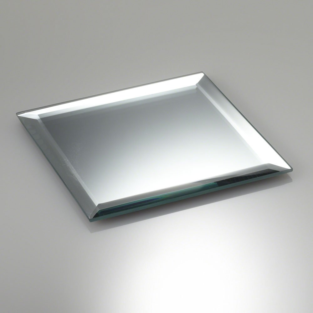 Eastland quot square beveled mirror great for table