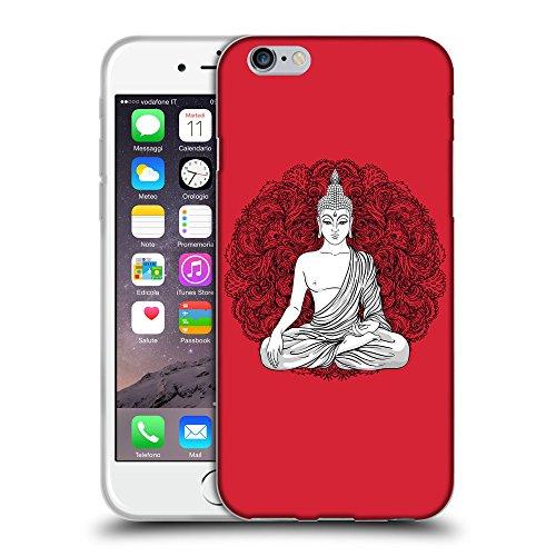 "GoGoMobile Coque de Protection TPU Silicone Case pour // Q07710601 Bouddha 7 Alizarine // Apple iPhone 6 PLUS 5.5"""