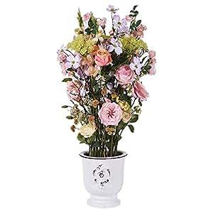 Little Green House Tall Arrangement Indoor Flowers Pot, Multi Color