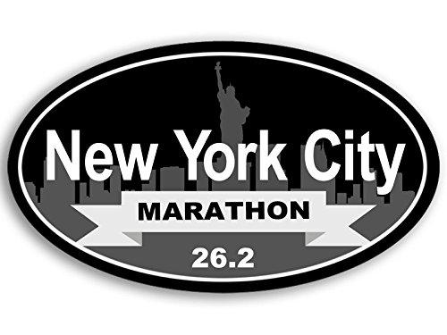 [해외]American Vinyl Oval New York City Marathon 26.2 Sticker (NYC ny Run Running Ran Race) / American Vinyl Oval New York City Marathon 26.2 Sticker (NYC ny Run Running Ran Race)