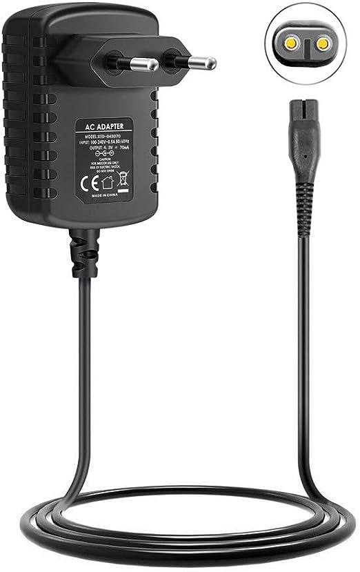 Cargador de afeitadora eléctrica de 4,3 V para Philips Norelco ...