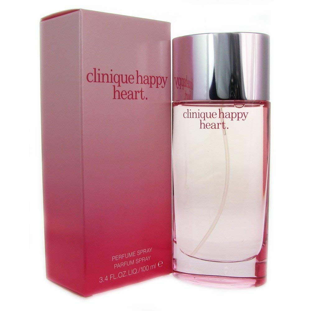 Happy Heart By Clinique For Women. Parfum Spray 3.4 Ounces by Clinique