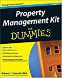 img - for Property Management Kit For Dummies (Book & CD) (For Dummies (Lifestyles Paperback)) (Paperback) book / textbook / text book