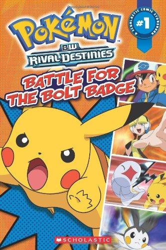 Download Pokemon: Comic Reader #1:Battle for the Bolt Badge PDF