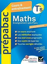 Maths Tle S Enseignement spécifique - Prépabac Cours & entraînement : Cours, méthodes et exercices - Terminale S (Cours et entraînement)