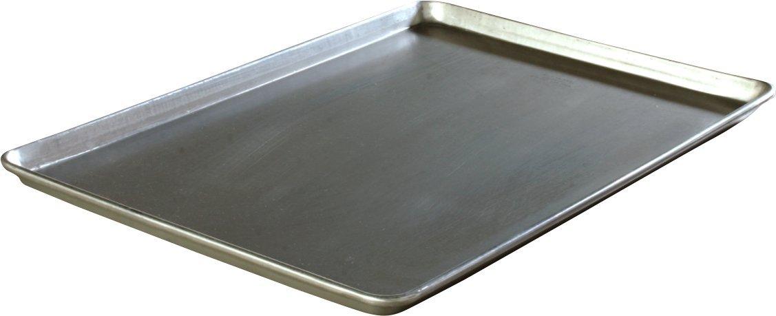 Carlisle 601826 Heavy Duty 3003 Aluminum Full Size Sheet Pan, 25.75'' Length x 17.81'' Width (Case of 12) by Carlisle
