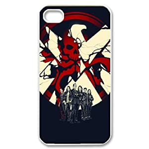Agents of S.H.I.E.L.D ROCK8016283 Phone Back Case Customized Art Print Design Hard Shell Protection Iphone 4,4S