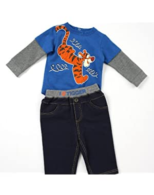 Disney Tigger 2-piece Bodysuit and Pants Set (9M)