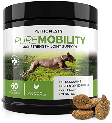 PureMobility Glucosamine Dogs Supplement Green Lipped product image