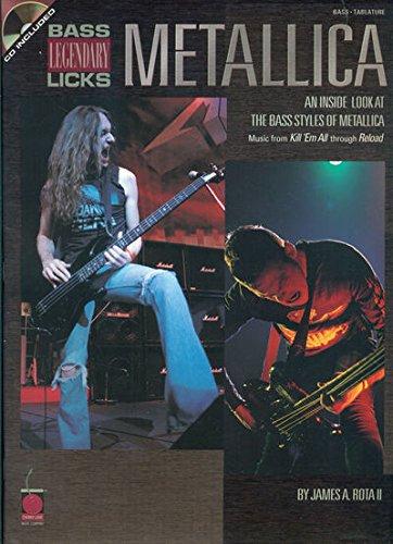 endary Licks: An Inside Look at the Bass Styles of Metallica ()