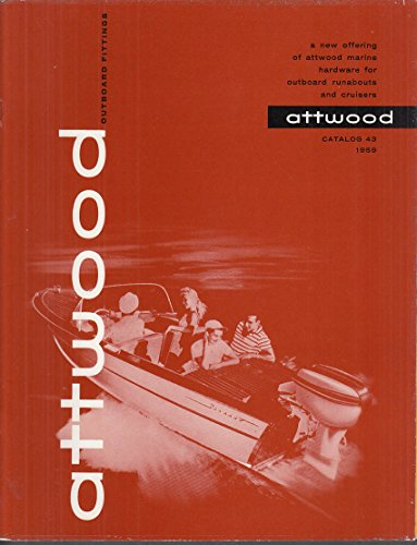 Outboard Cruiser - Attwood Marine Hardware for Outboard Runabouts & Cruisers catalog 1959