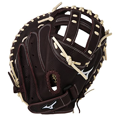 Mizuno Leather Catchers Glove - 1