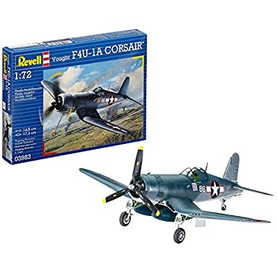 Revell Germany Vought F4U-1A Corsair Airplane Model Kit: Toys & Games