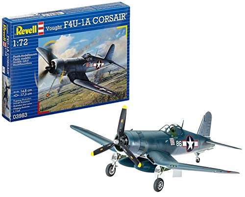 Revell Germany Vought F4U-1A Corsair Airplane Model Kit