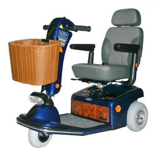 - Shoprider Sunrunner 3 Wheel Scooter, Blue by Shoprider