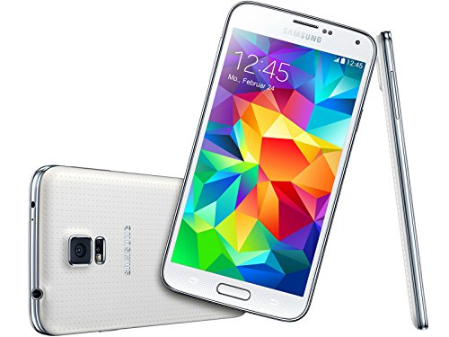 Samsung Galaxy S5 5.1' G900V 16GB Verizon Cell Phone Android (Certified Refurbished) (White)