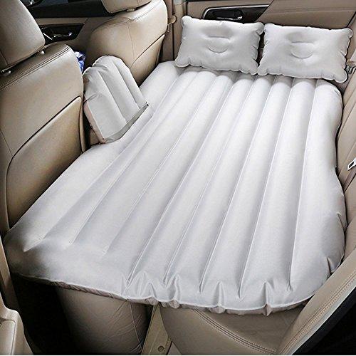 Car Inflatable Air Bed Car Shock Mattress by Car Portable Oxford Cloth Inflatable Car Mattress Travel Universal SUV with Repair Pad, Glue Kits,Air Pump For Travel,Head Restraint, Storage Bag by Ur 1st Choice