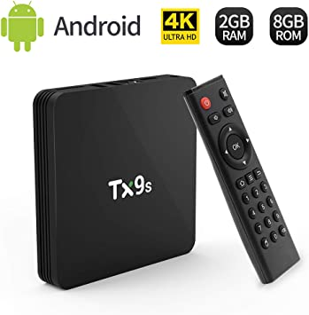 TV Box,TX9S TV Box Android 7.1 TV Box 2GB RAM/8GB ROM Amlogic S912 Octo-Core TV Box, 2.4Ghz WiFi 4K HDMI Smart TV Box: Amazon.es: Electrónica
