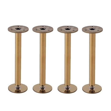 Amazon.com: Patas de soporte para muebles de acero ...