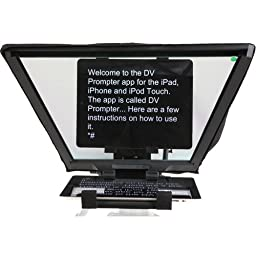 Datavideo TP-600B iPad / Android Tablet Prompter Kit for ENG Cameras (with Bluetooth Remote Control)