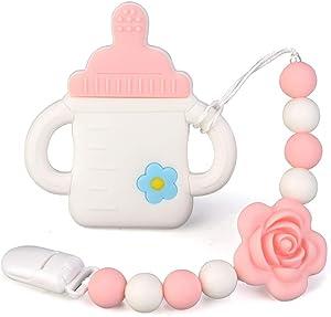Amazon Giveaway Leayjeen Baby Teething Toys Silicone...