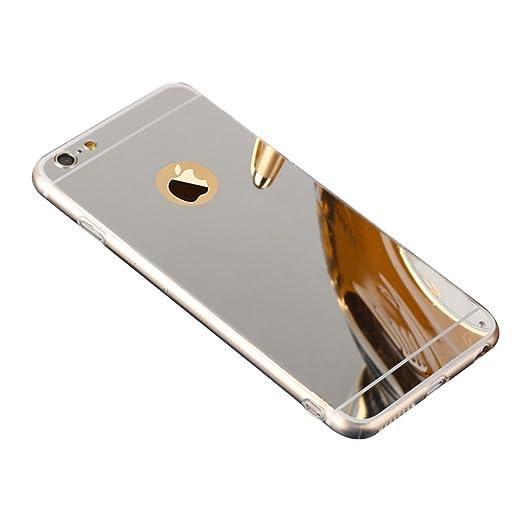 """10 opinioni per Custodia Specchio in TPU Silicone per Apple iPhone 6 / 6S 4.7"""", Lusso Ultra"""
