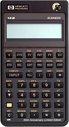 HP 14B Business Calculator 1987 Vintage