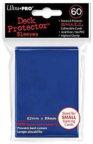 Ultra Pro Card Supplies YUGIOH Deck Protector Sleeves Blue 60 Count Verzamelingen