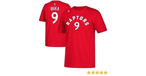 f4cdbe2bfff adidas CT7063 NBA Toronto Raptors Men's #9 Serge Ibaka Game Time Tee, Red,  XLTG, Sports & Outdoors - Amazon Canada