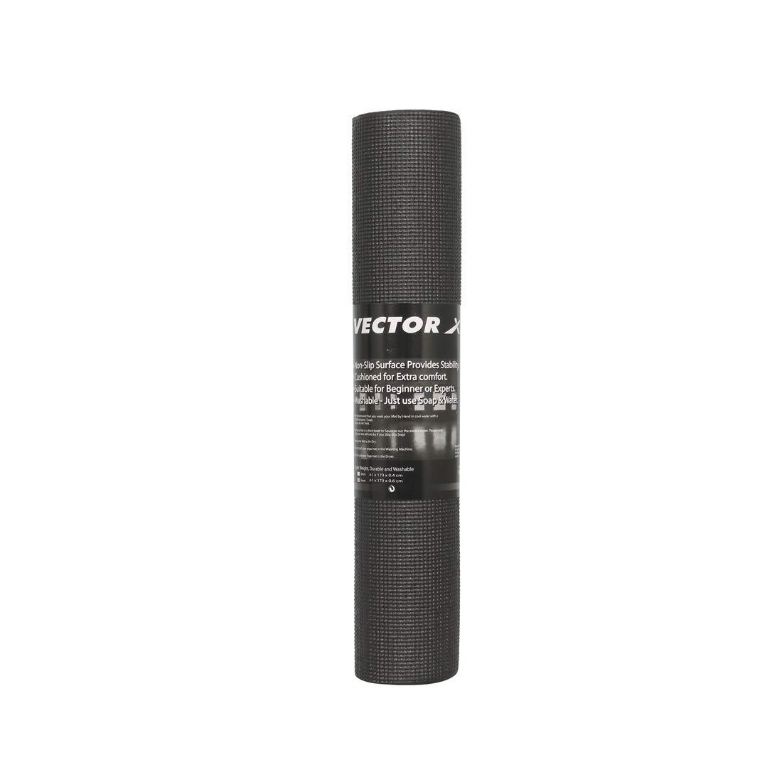 Vector X 4mm Yoga Mat (Black)