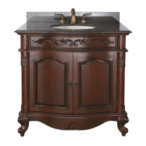 Avanity Provence 36 in. Vanity Only in Antique Cherry finish Review