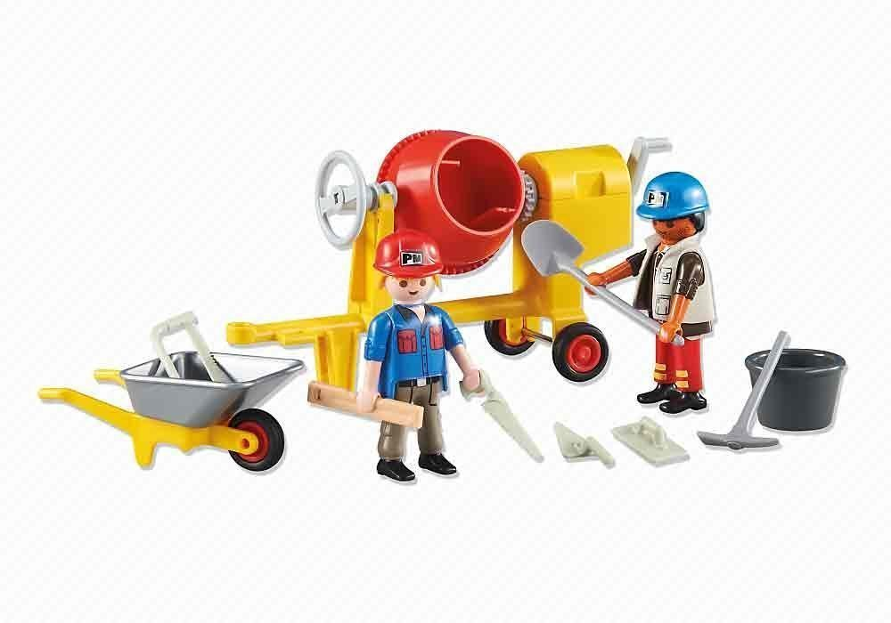 2 Construction Workers 6339 PLAYMOBIL/® Add-On Series