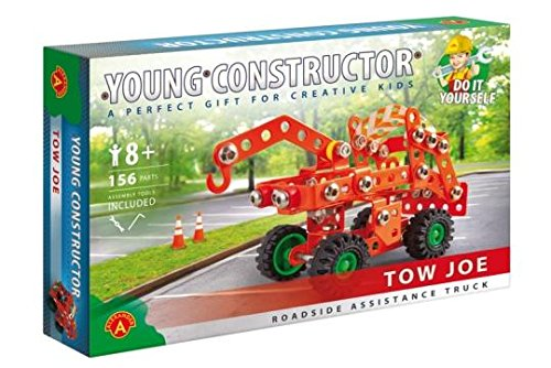 StemKids Young Constructor -Erector- Tow Joe Model Building Set, 120 Pieces, For Ages 8+, 100% Compatible with All Major Brands including Meccano
