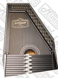 Oscar Schmidt 1930's Original Design Autoharp & Gig Bag, 15 Bar, Black, OS73B-AC445