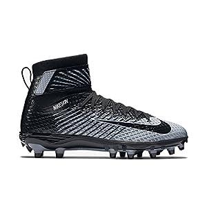 Nike Force Lunarbeast Elite TD Lightning Mens Football Cleats 10.5 D(M) US Black/Stealth/White