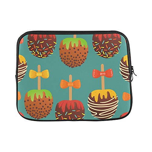 Design Custom Round Lollipop Sweet Snack Color Sleeve Soft Laptop Case Bag Pouch Skin for MacBook Air 11
