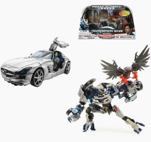 [Transformers Dark Of The Moon Human Alliance Soundwave Toy Action Figure New] (Arcee Prime Costume)