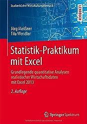 Statistik-Praktikum mit Excel: Grundlegende quantitative Analysen realistischer Wirtschaftsdaten mit Excel 2013 (Studienbücher Wirtschaftsmathematik)