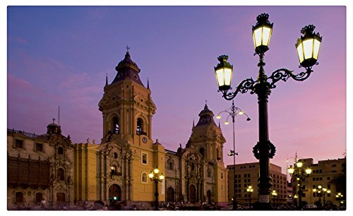Cathedral-Plaza-de-Armas-(Lima) travel sites Postcard Post (Cathedral Plaza)