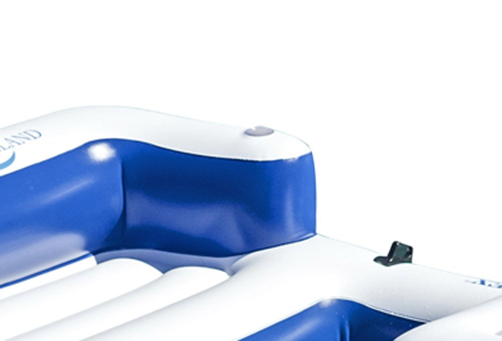 Intex Oasis Island Inflatable Giant 5 Person Lake Floating Lounge Raft (2 Pack) by Intex (Image #4)