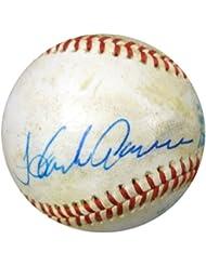 Hank Aaron Autographed Hand Signed AL Baseball Vintage PSA DNA #G02148