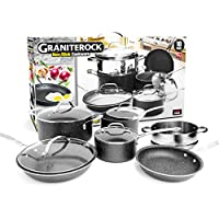10-Piece Graniterock Nonstick Granite-coated Cookware Set