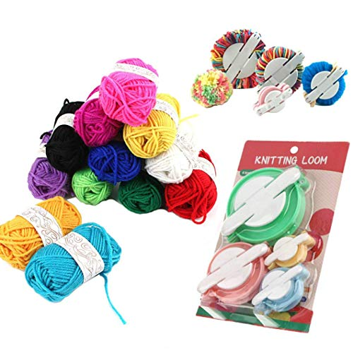 Pompom Makers4 Sizes Pom-pom