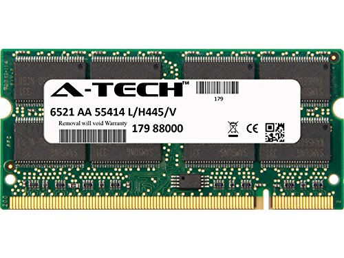 A-Tech 1GB STICK For HP-Compaq Presario Notebook Series V4435NR (DDR) V4440US (DDR) V5000 (DDR) V5000Z (CTO) V5002EA V5004EA V5005US V5006EA V5009EA V5015. SO-DIMM DDR NON-ECC PC2700 333MHz RAM Memory