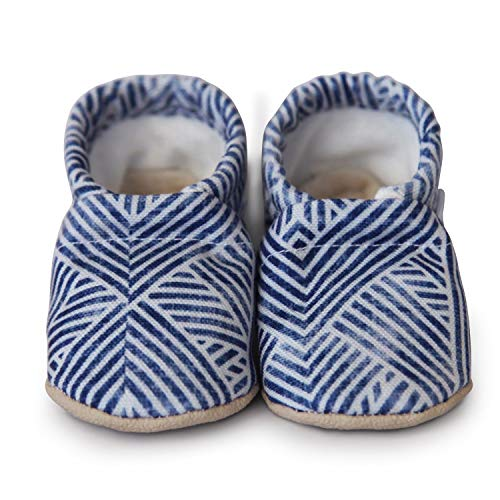 (CLAMFEET Organic soft soled baby shoes, INDY)