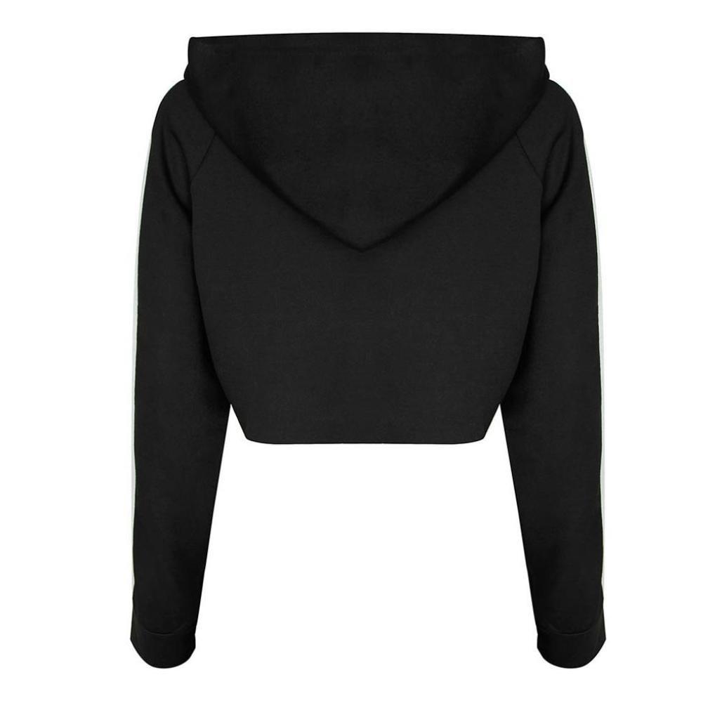 ... Abrigo Camiseta Tops+Pantalones Conjunto, Primavera Suelta Casual Jersey Sudadera Blusa Camisa Mono Traje Ropa (L, Negro): Amazon.es: Ropa y accesorios